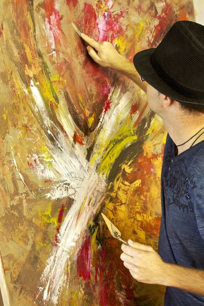 Passion painting the Soul