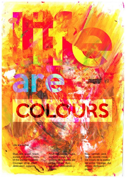 Life are colours